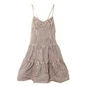 Nanette Lepore Polka Dot Fit & Flare Dress Lace-up